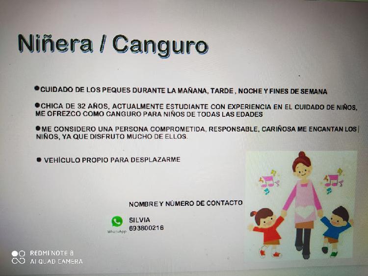 Canguro/niñera