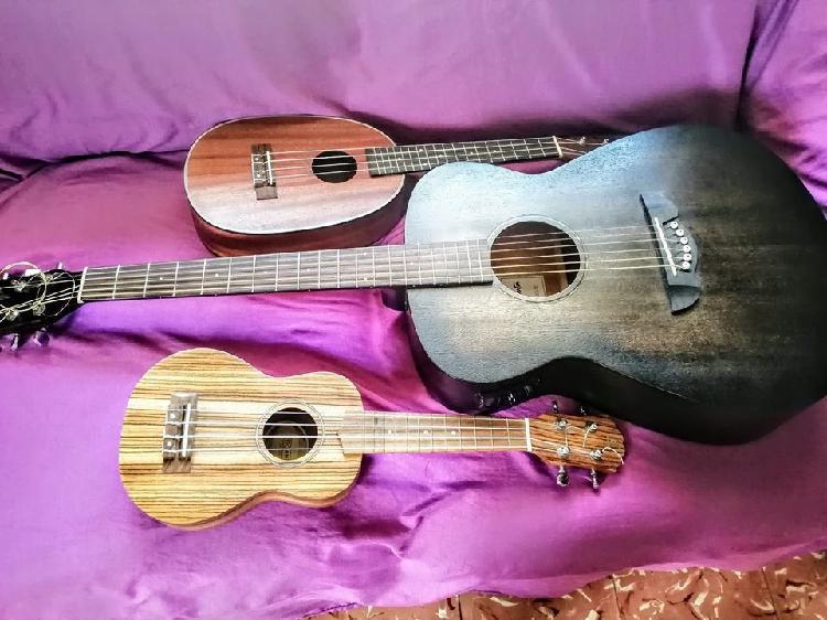Guitarra y ukelele para niños