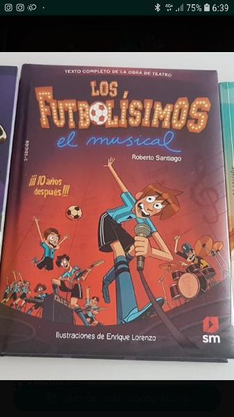 Libro lectura futbolisimo
