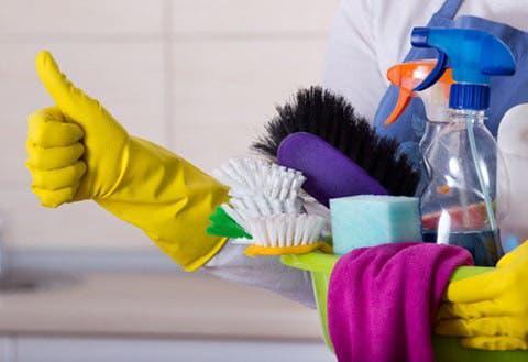 Limpiadora con mucha experiencia