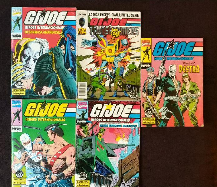 Lote comics g.i.joe - comics forum