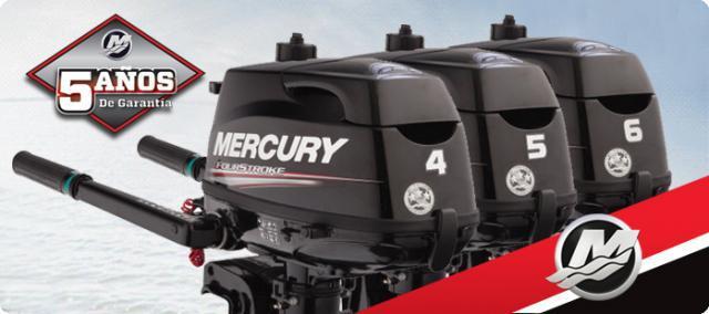 Motor fueraborda mercury - f4m 4 tiempos 2020