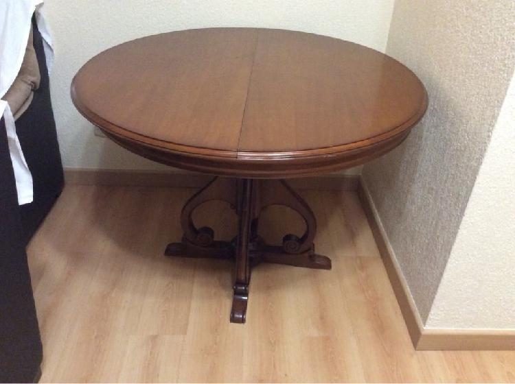 Mesa salón madera