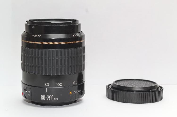 Objetivo canon ef 80-200 f4.5-5.6