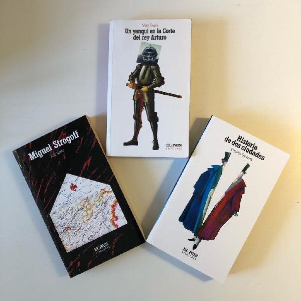 Pack 3 libros - colección aventuras - el pais