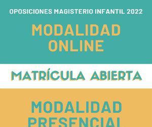 Preparador oposiciones infantil c.valenciana - academia