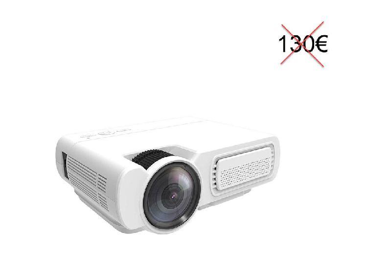 Proyector led 3600 lux 1080p hdmi usb vga nuevo
