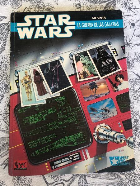 Star wars guía west end games primera edicion 1990