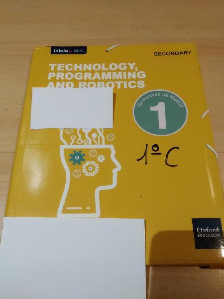 Technology, programming and robotics 1 eso