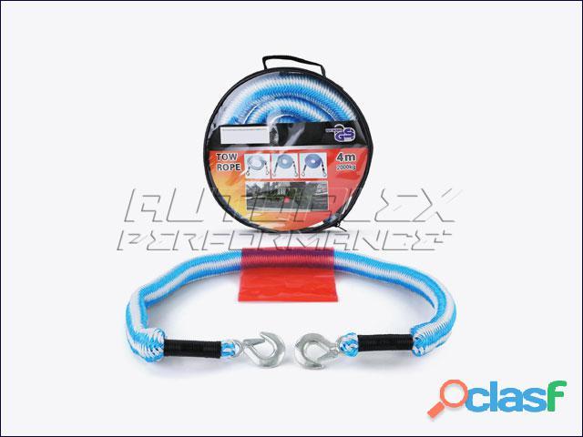 Cuerda elástica azul