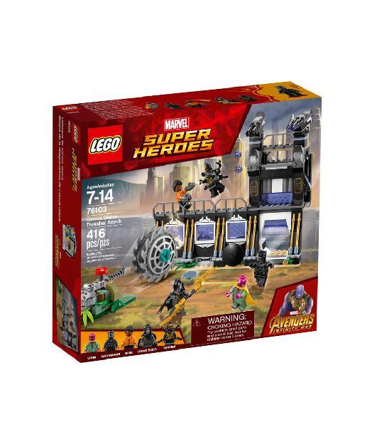 Lego 76103 marvel superhéroes desgranadora