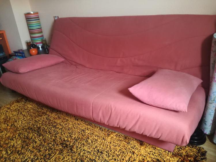 Sofa cama clic clac tres plazas con arcon