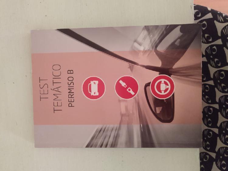 Test carnet conducir b