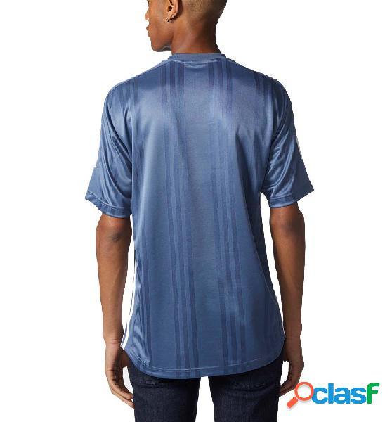 Camiseta casual hombre adidas jaq 3 str jrsy azul l
