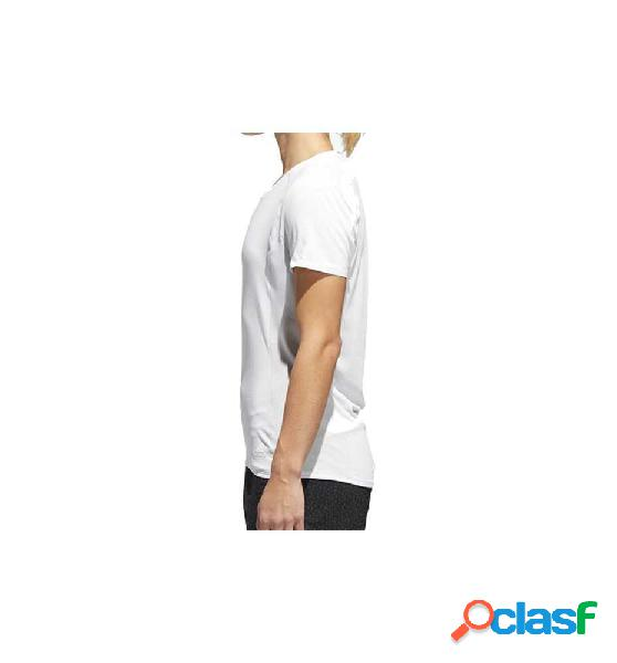 Camiseta m/c running adidas fr sn ss tee w blanco m