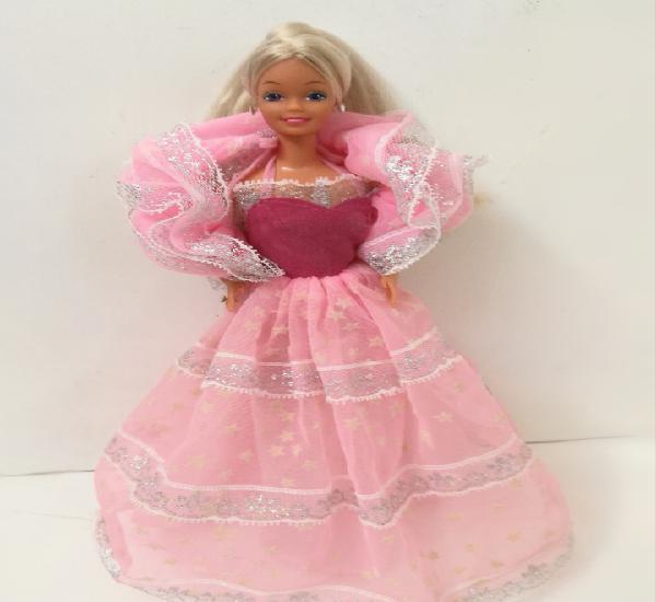 Barbie dream glow destellos made in spain años 80