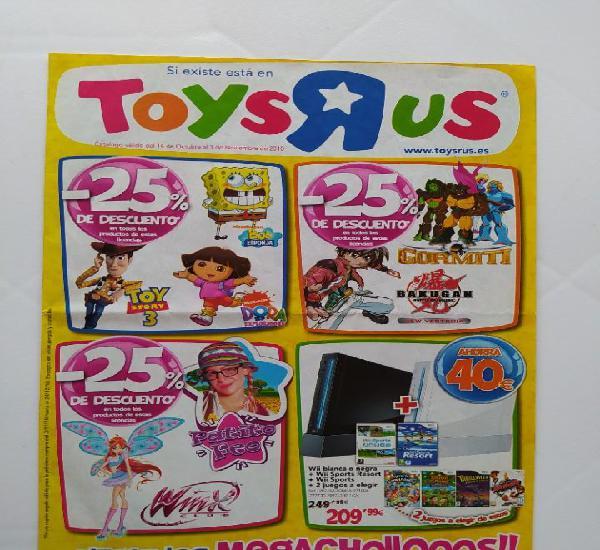 Catalogo de juguetes toysrus toys r us megachollos