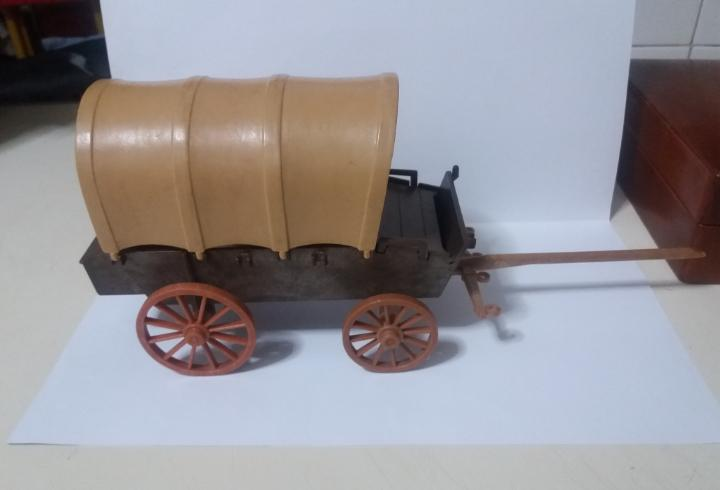 Famobil playmobil 3243 carreta western oeste 1° epoca manos