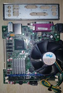 Intel dg41mj pentium e6500 disipador 4gb ram