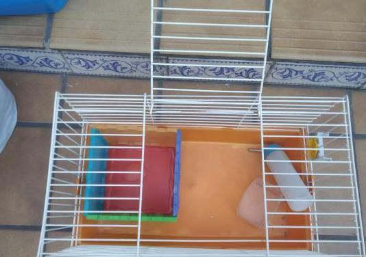 Jaula para hamsters,conejos o cobayas