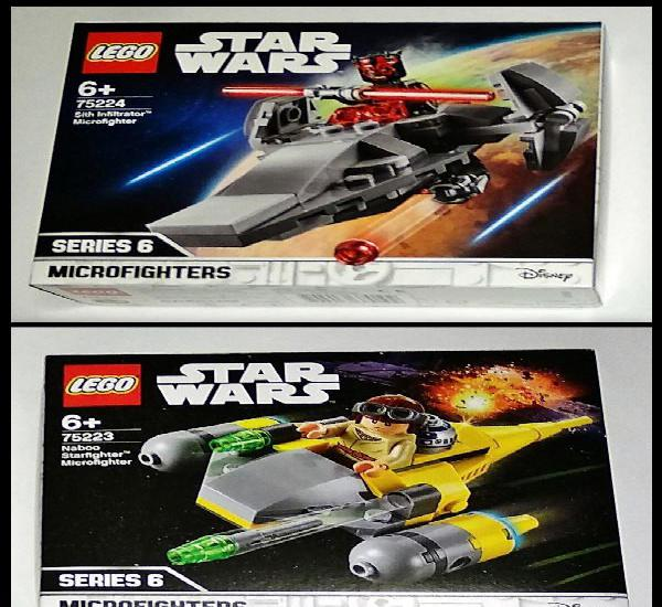 Lote lego star wars, 2 microfighters, 75224 - 75223. series
