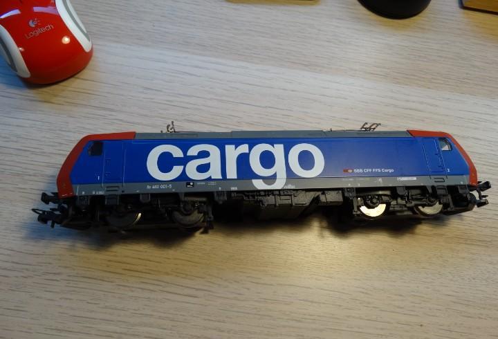 Locomotora piko h0 - 57231 - locomotora eléctrica - re482 -