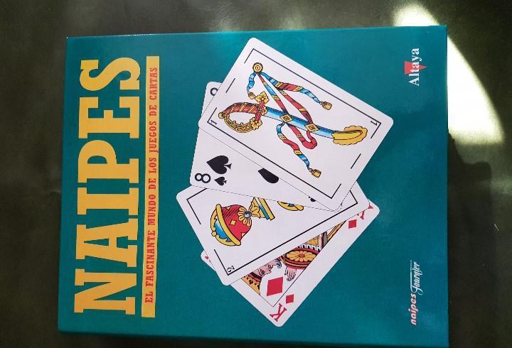 Naipes, el fascinante mundo de los juegos de cartas