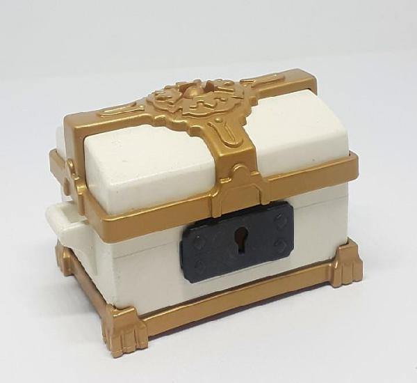 Playmobil cofre blanco medieval princesa custom