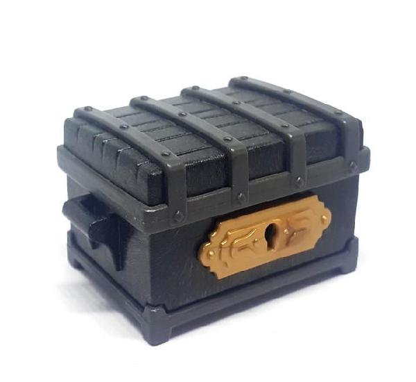 Playmobil cofre negro medieval princesa custom