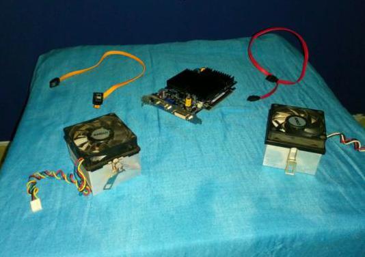 Piezas y cableados pc - imagen y sonido