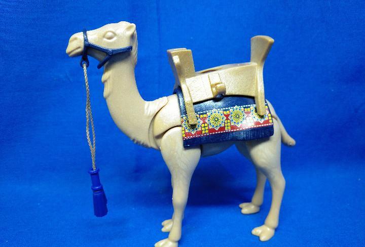 Playmobil camello con silla y riendas