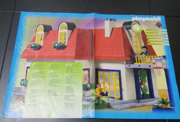 Playmobil extension casa moderna mansión instrucciones