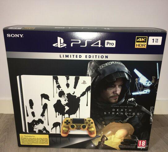 Sony playstation 4 pro edición limitada 1tb 4k ps4 pro