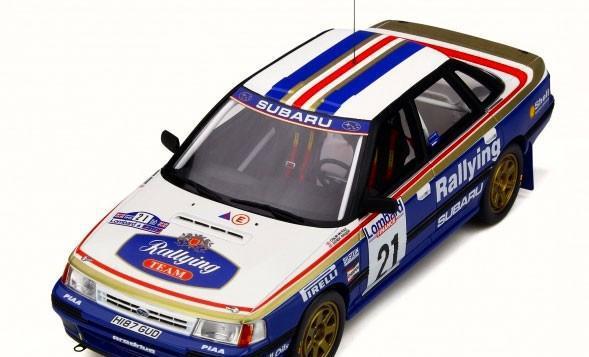 Subaru legacy rs grupo a 1991 escala 1/18 de otto mobile