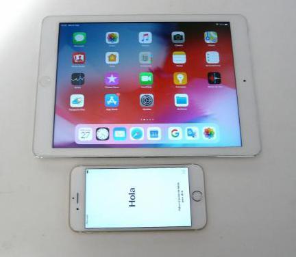 Tablet ipad air retina 4g mas iphone 6s