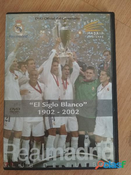 Dvd del centenario del real madrid 1902 2002