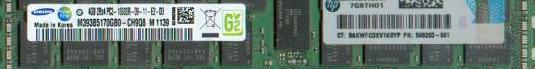 Tarjetas 4gb pc3-10600 1333mhz server memory
