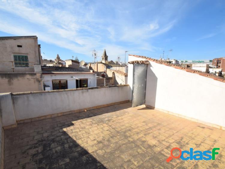 Conjunto de 4 pisos a reformar casco antiguo palma 3 terrazas 433 mq