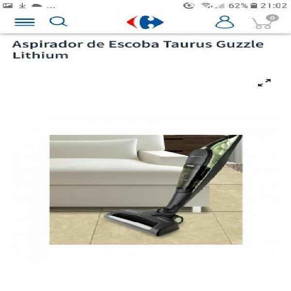 Aspirador de escoba taurus guzzle lithium