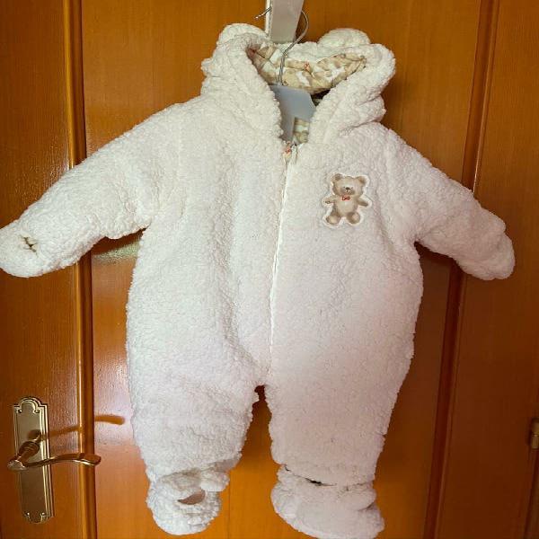 Abrigo/buzo bebé