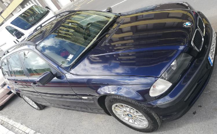 Bmw 320d touring 136 cv e46 azul metalizado diesel