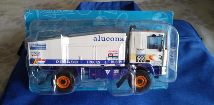 Camión truck pegaso troner 2236 dakar (1988) ixo 1/43 nuevo