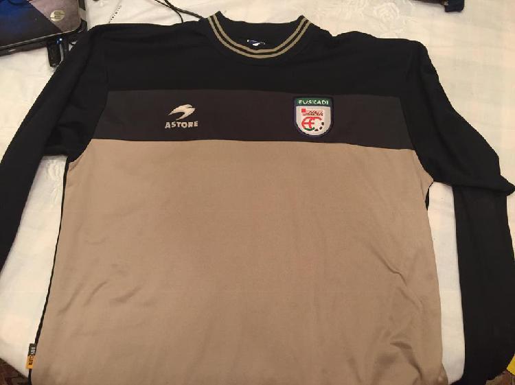 Camiseta selección euskadi match worn asier riesgo