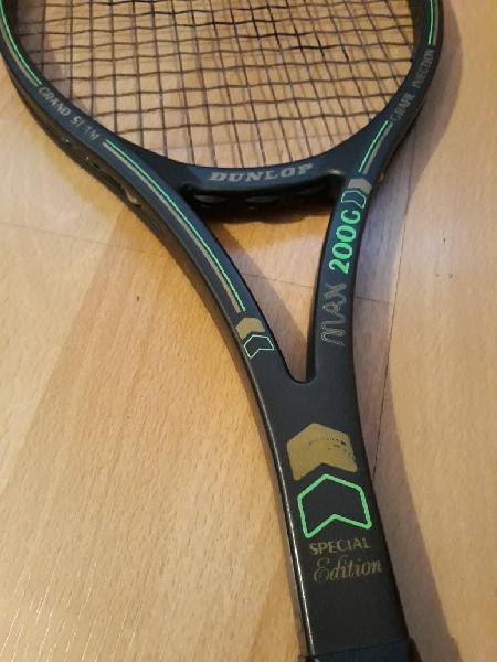 Edición limitada dunlop max 200g raqueta tenis
