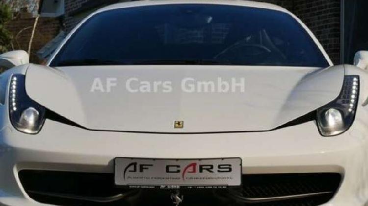 Ferrari 458 italia *carbon racing seats*