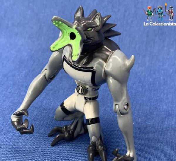 Figura ben 10 - ultimate alien - blitz wolfer - 10 cm