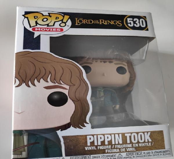 Figura funko pop pippin took señor de los anillos nuevo