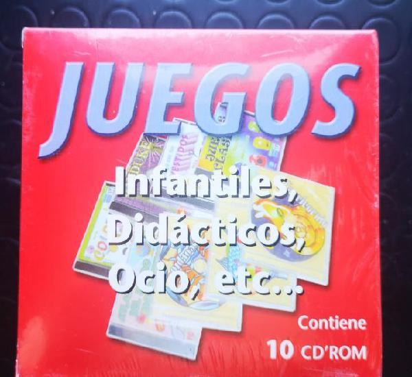 Juegos para pc... infantiles, didacticos, ocio, etc.. box 10