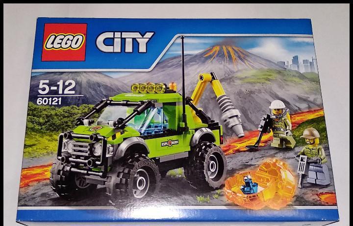 Lego city, vehículo de exploración volcán, 60121, nuevo y