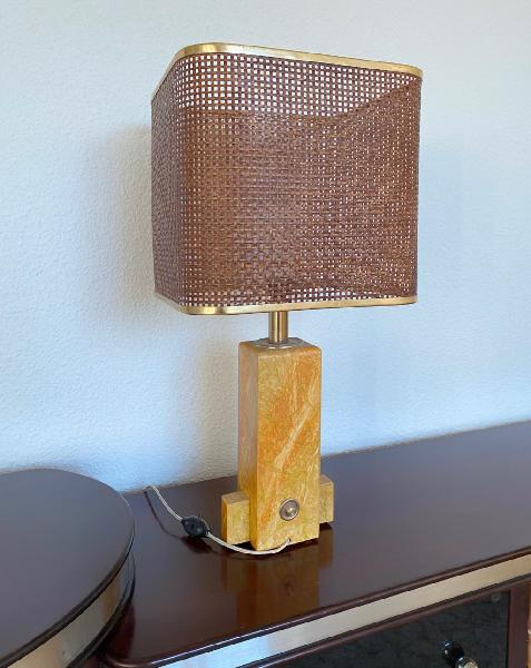 Lámpara de mesa años 60 perfecto estado